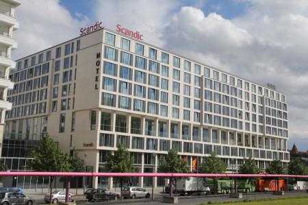 Scandic Hotel, Ansicht, Straße